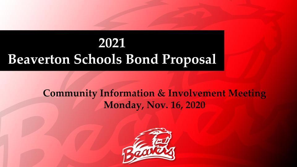 Bond Informational Presentation