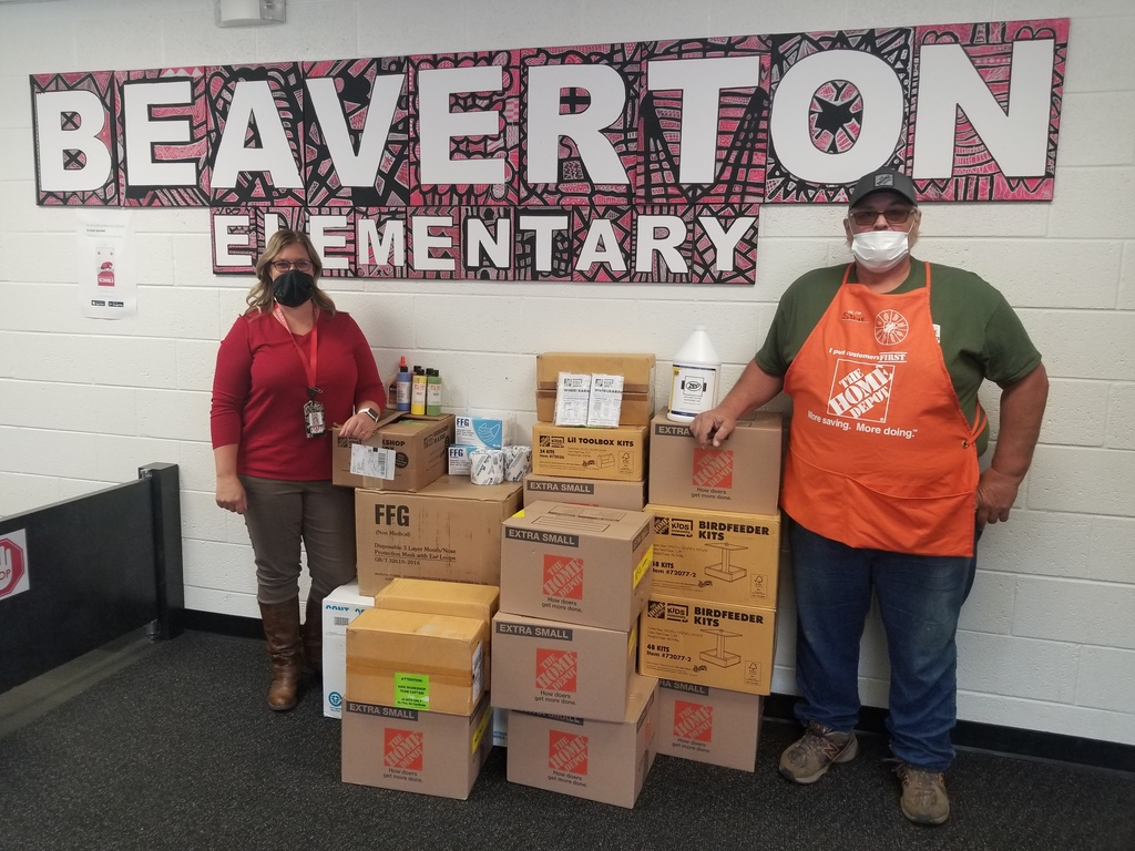 Home Depot Donation of Supplies