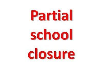 partial school closure