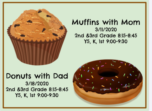 Muffins with Mim and Donuts with Dad