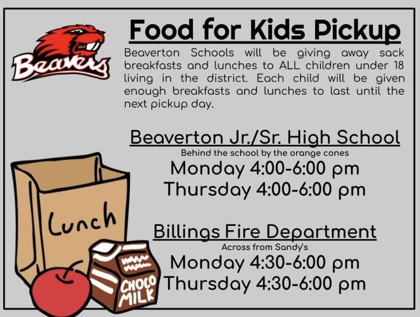 Beaverton Schools is committed to providing food to all district children during this time of school closure.